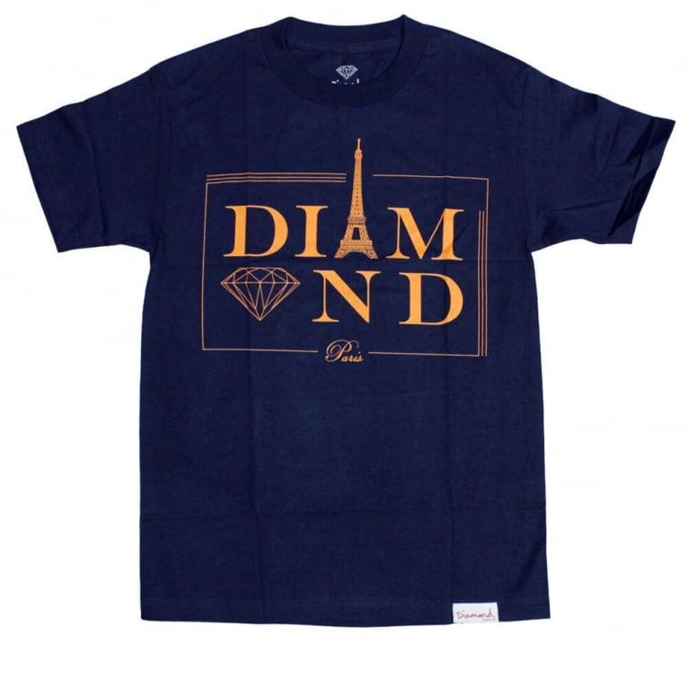 Diamond Supply Co. Paris T-shirt - Navy