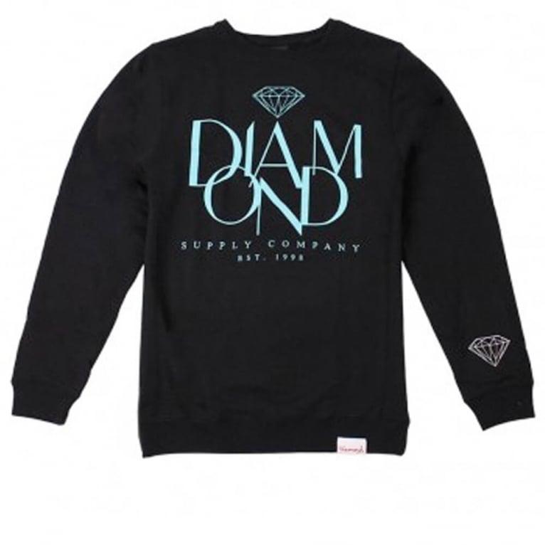 Diamond Supply Co. Parisian Crewneck Sweatshirt - Black
