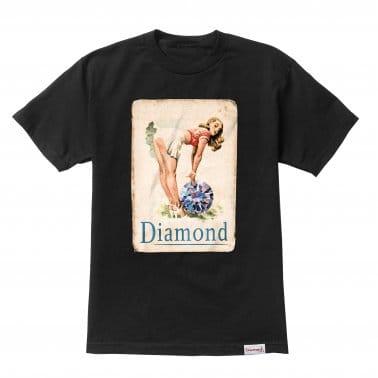 Pin Up Girl T-shirt - Black