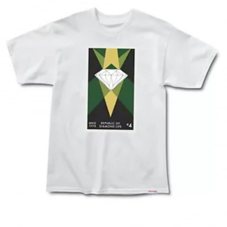 Diamond Supply Co. Republic T-shirt White