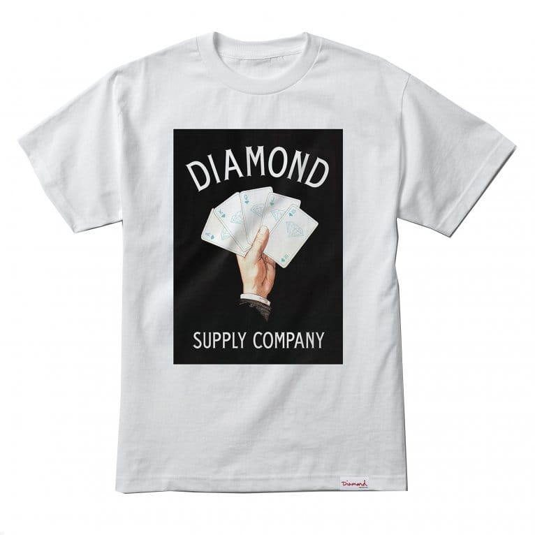 Diamond Supply Co. Royal Flush T-shirt - White