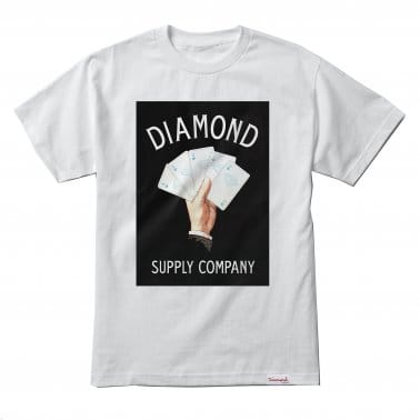 Royal Flush T-shirt - White