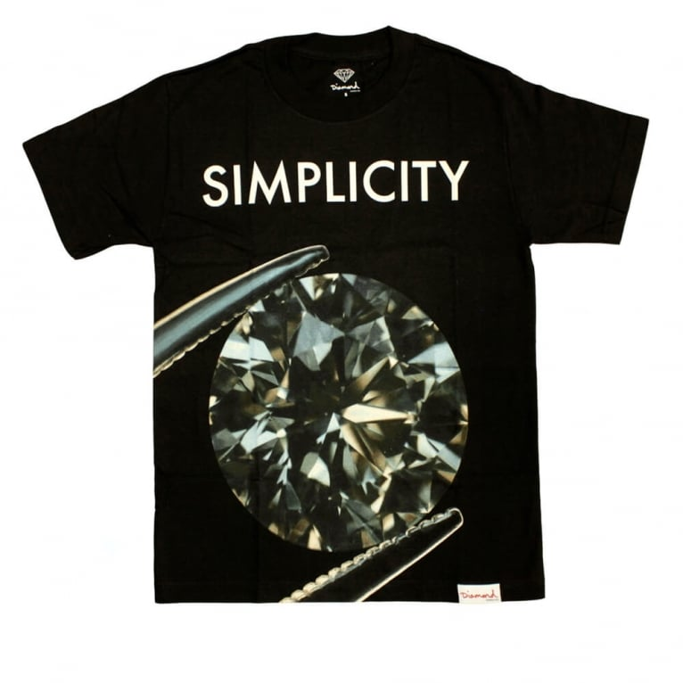 Diamond Supply Co. Simplicity II T-shirt - Black