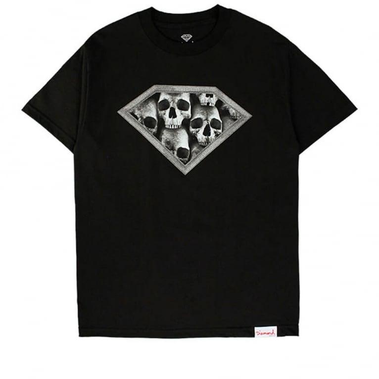 Diamond Supply Co. Skulls T-shirt - Black