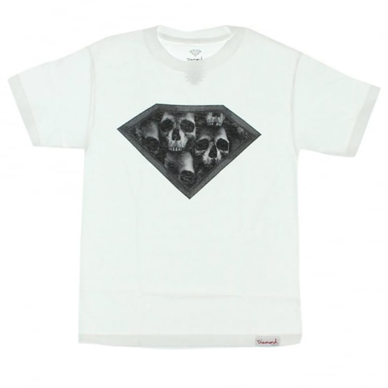 Diamond Supply Co. Skulls T-shirt - White