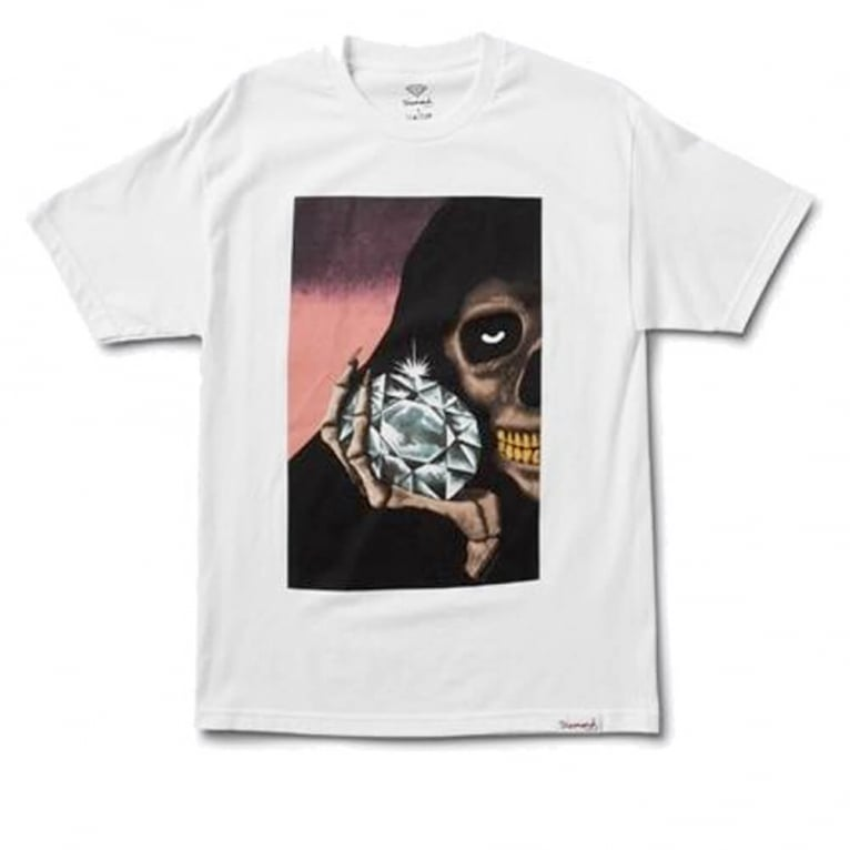 Diamond Supply Co. The Reaper T-shirt - White