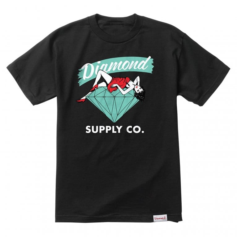 Diamond Supply Co. Vices T-shirt - Black