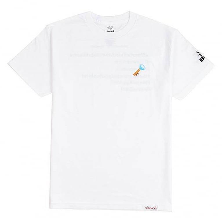 Diamond Supply Co. X DJ Khaled Key Emoji T-Shirt - White