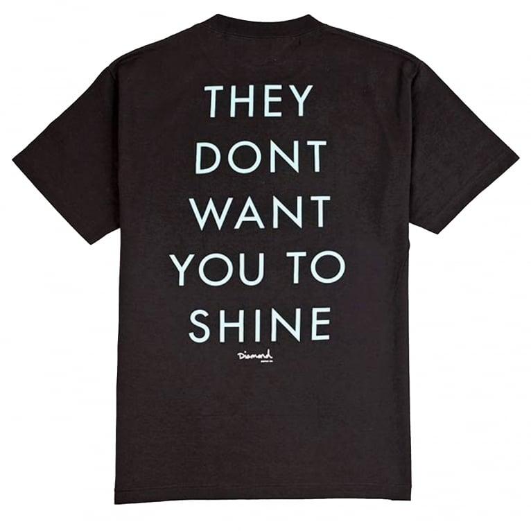 Diamond Supply Co. X DJ Khaled TDWYTS T-Shirt - Black