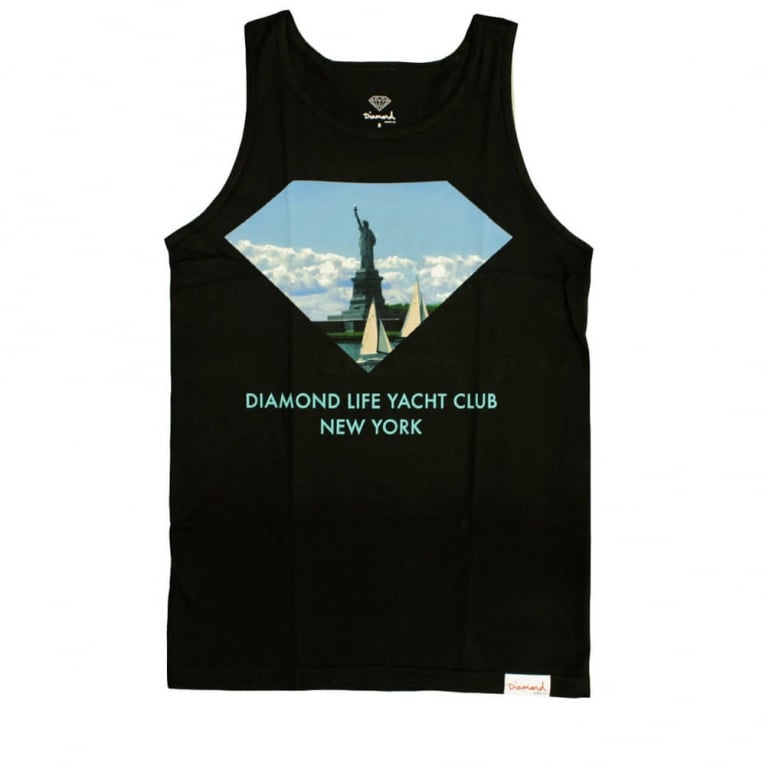 Diamond Supply Co. Yacht Club Tank Top - Black