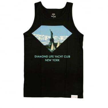 Yacht Club Tank Top - Black