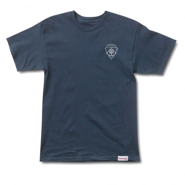 Diamond Supply Co. Yacht Crest T-shirt - Navy