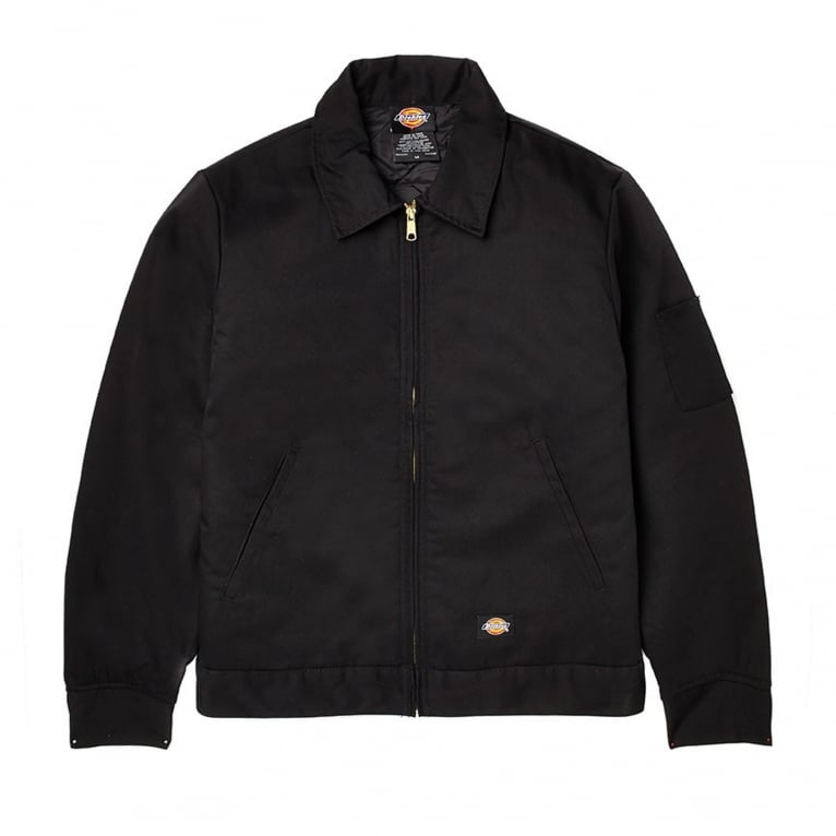 Dickies Eisenhower Lined Jacket - Black