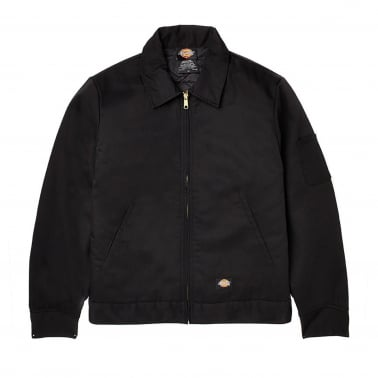 Eisenhower Lined Jacket - Black