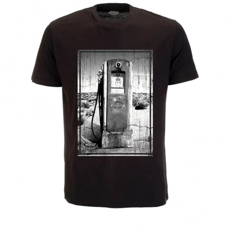 Dickies Gasoline Tee Black