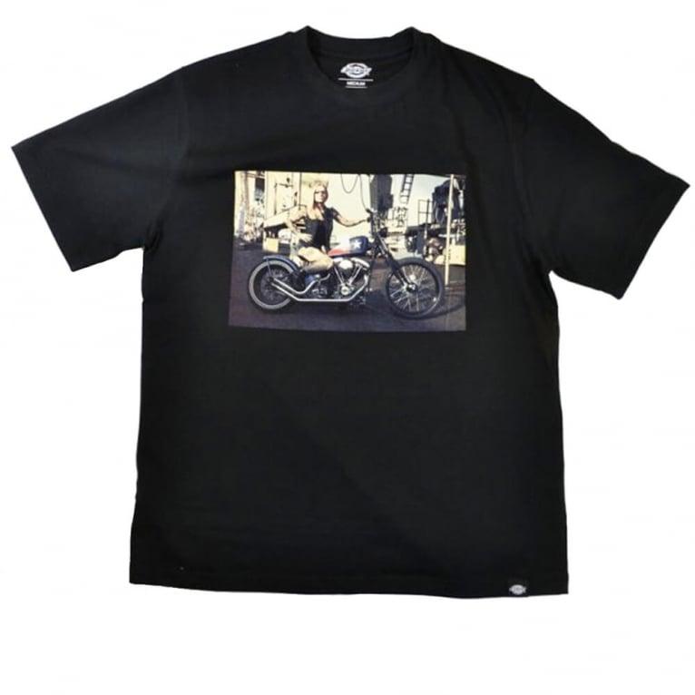Dickies Hot Rod Biker Tee Black