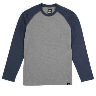 Lake Worth Long Sleeve Tee - Dark Navy