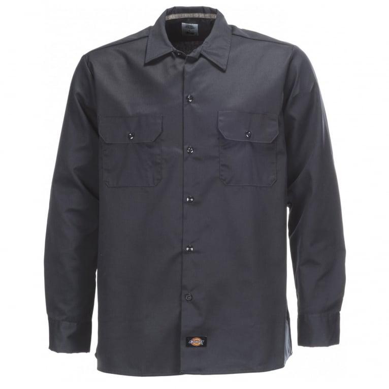 Dickies Long Sleeve Slim Shirt