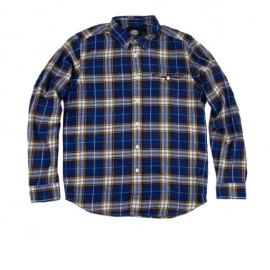 Marshall Shirt Royal - Blue