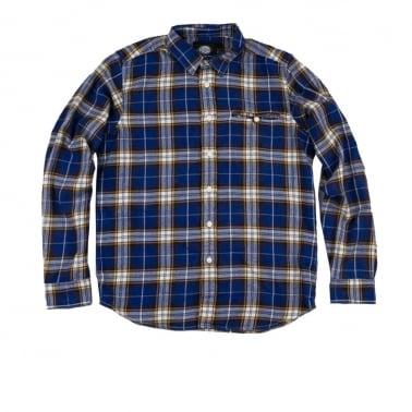 Marshall Shirt Royal - Blue