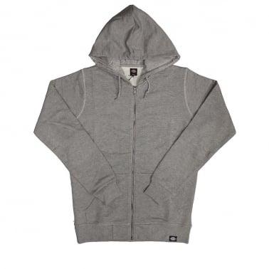 Midland Zip Hoodie - Grey/melange