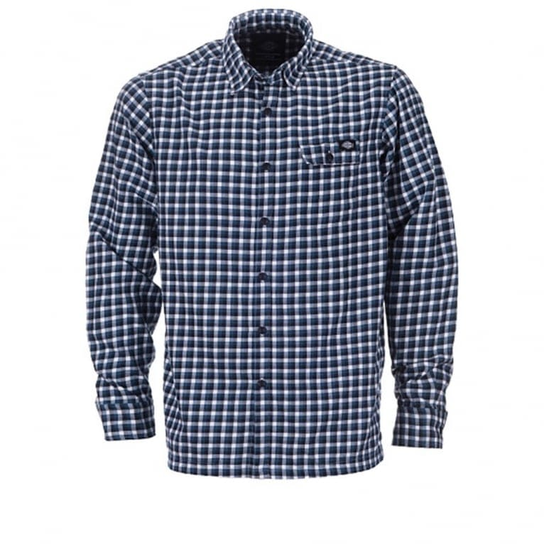 Dickies Ravendale Long Sleeve Shirt - Blue