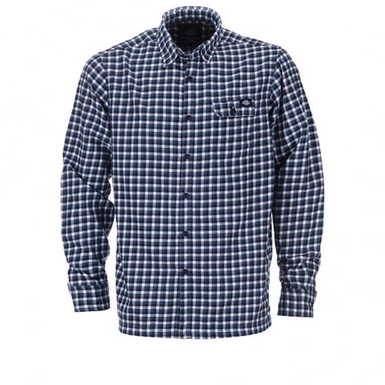 Dickies Ravendale Long Sleeve Shirt - Blue