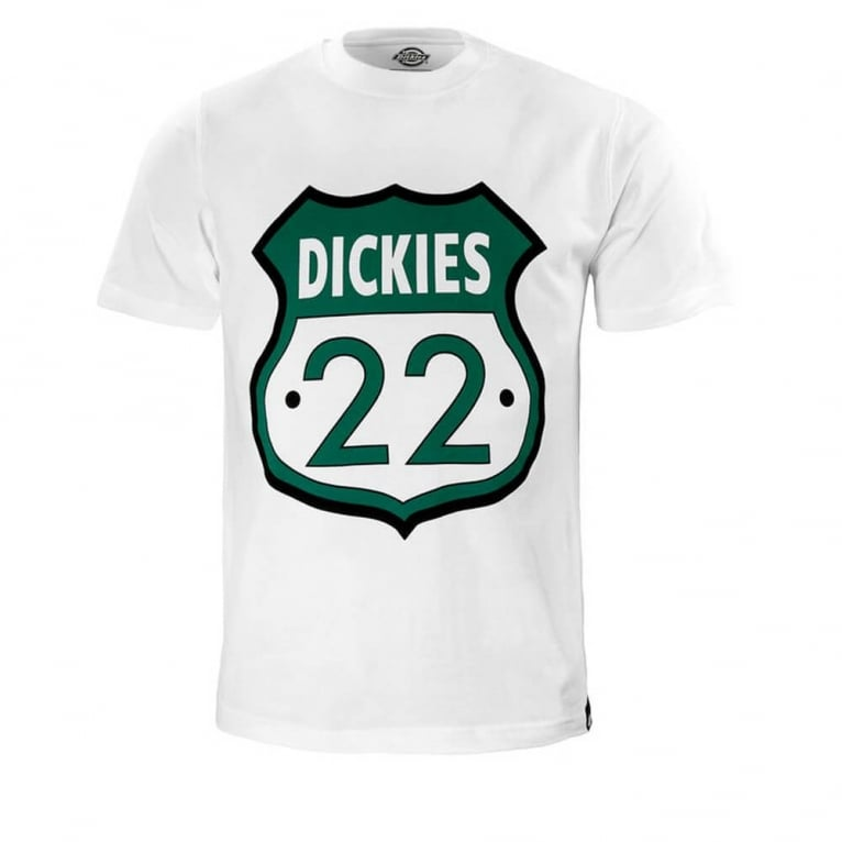 Dickies Sheild Tee White
