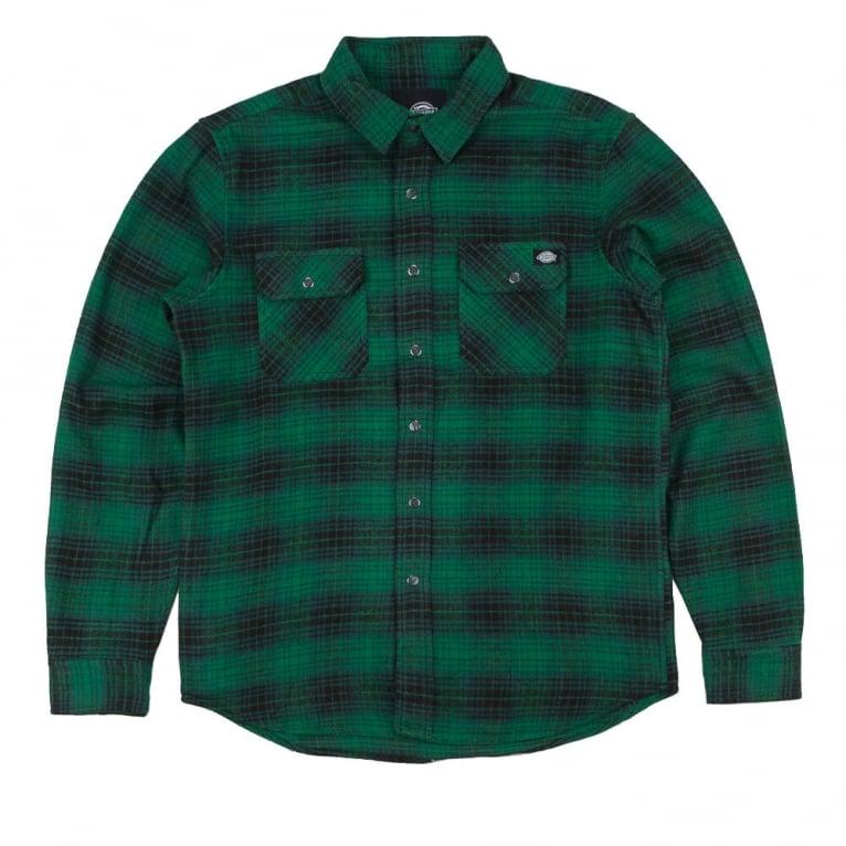 Dickies Sunfield Shirt - Pine Green