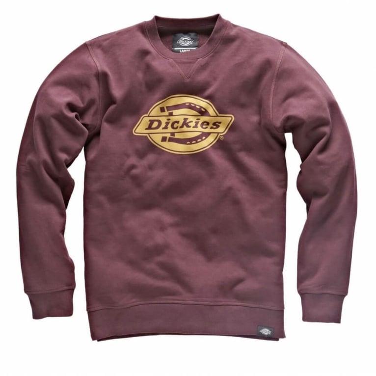 Dickies Vermont Crewneck Sweatshirt - Maroon