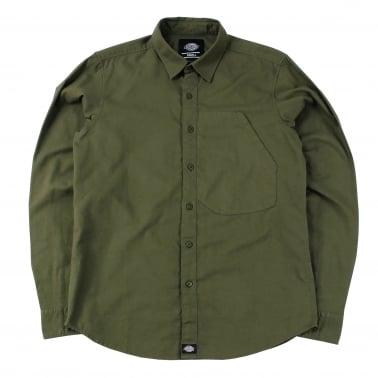 Wrightsville Shirt - Dark Olive