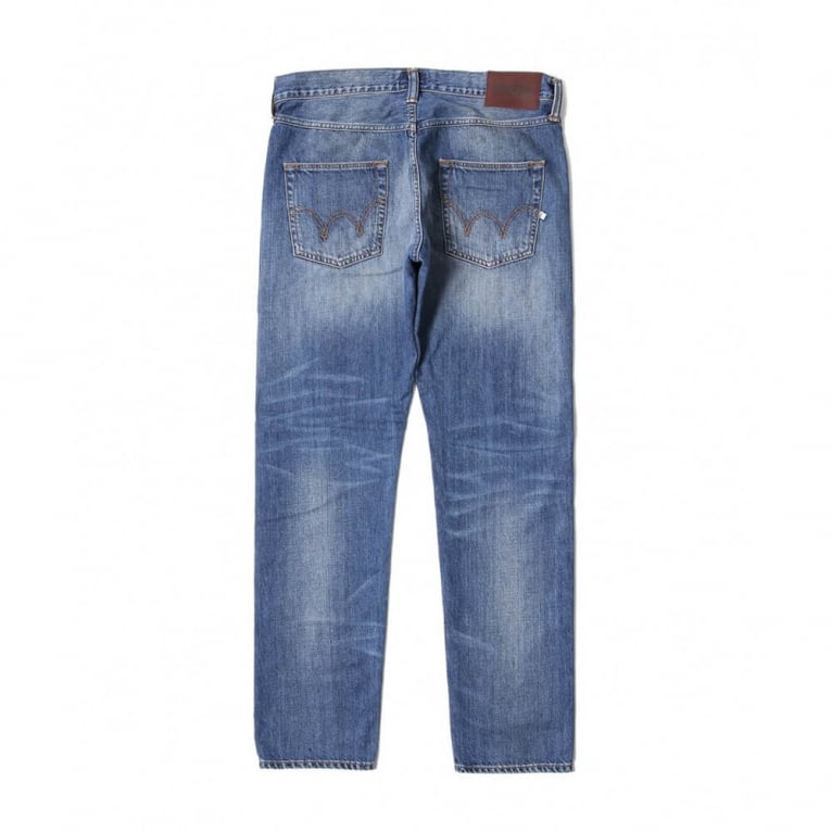 Edwin ED-55 Relaxed Tapered - Blue/Mid Glint