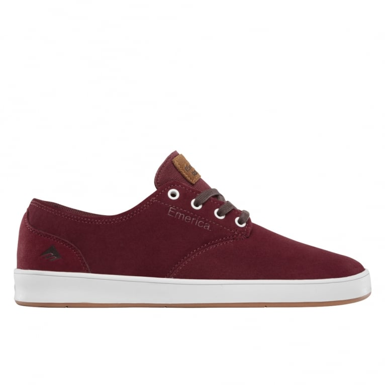 Emerica Romero Laced - Burgundy/White