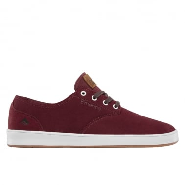 Romero Laced - Burgundy/White