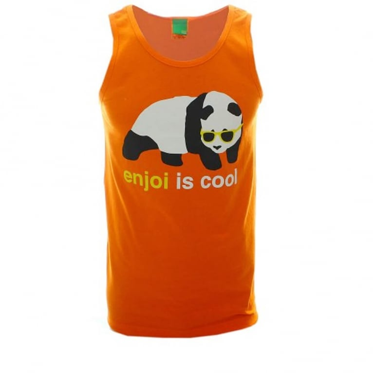 Enjoi Cool Tank Top - Orange