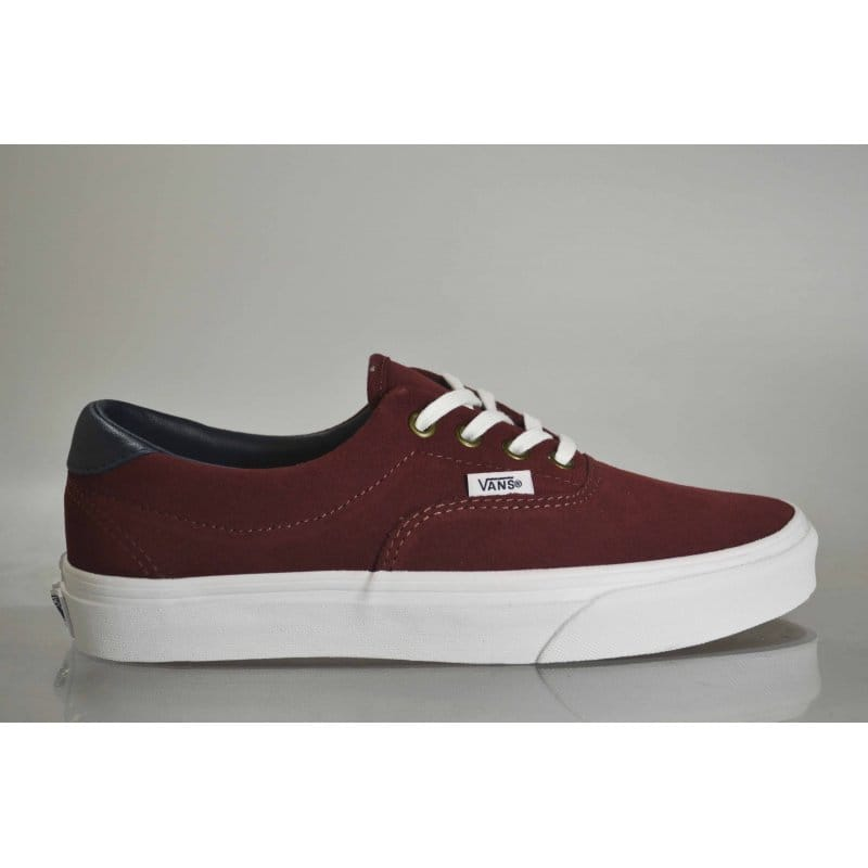 e2ca6591f867d1 Vans Era 59 Suede Leather Oxblood Red