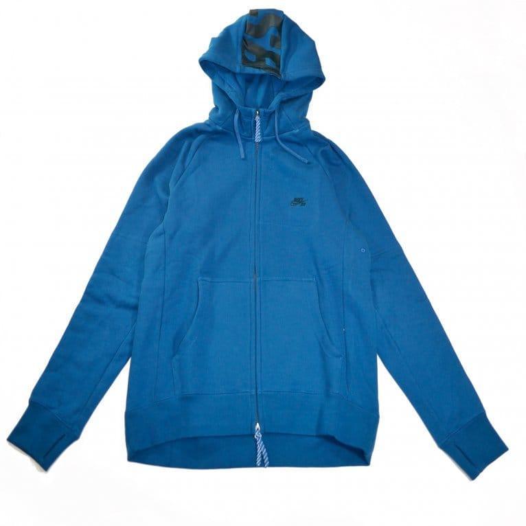 Nike SB Everett Full-Zip Hoodie - Brigade Blue