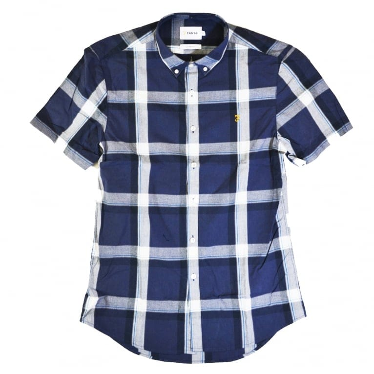 Farah Herne Shirt - True Navy