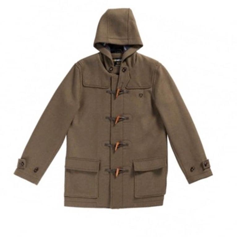 Farah Hop Duffle Jacket - Khaki
