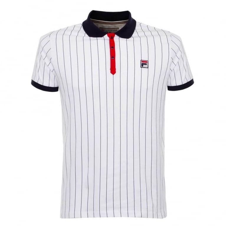 Fila BB1 Polo Shirt - White