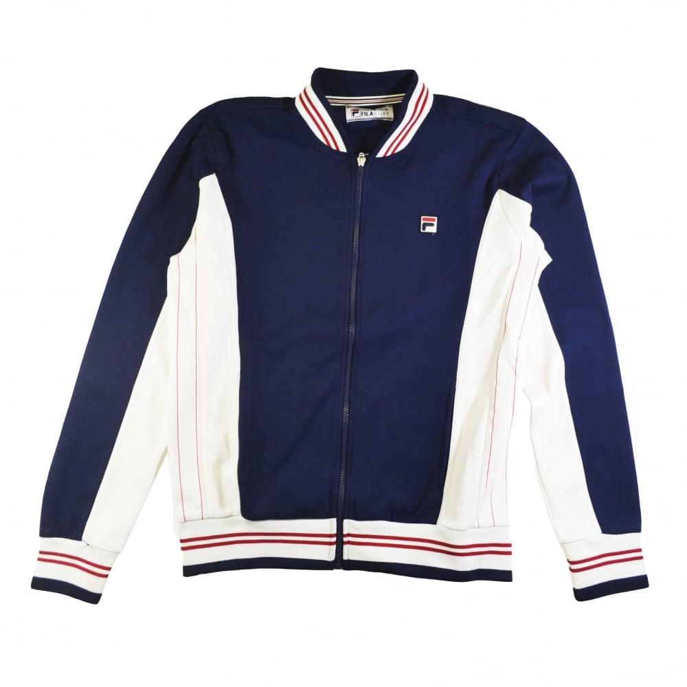 4efc2380 Fila Settanta Track Jacket in Peacoat/Gardenia   Natterjacks
