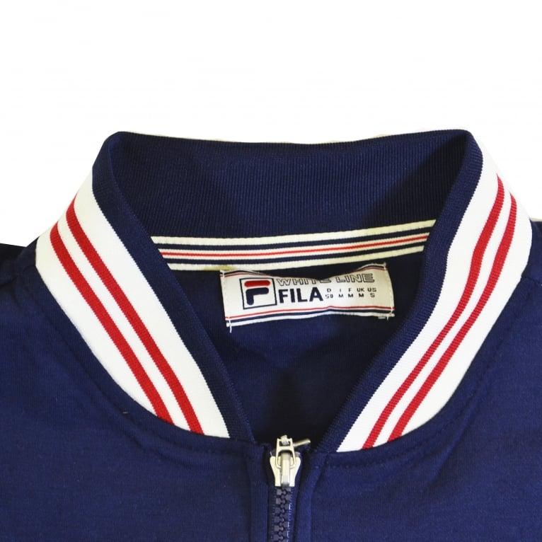 Fila Settanta Track Jacket - Peacoat/Gardenia