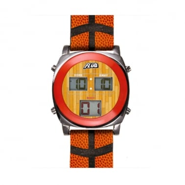 Flud Basketball Orange Watch