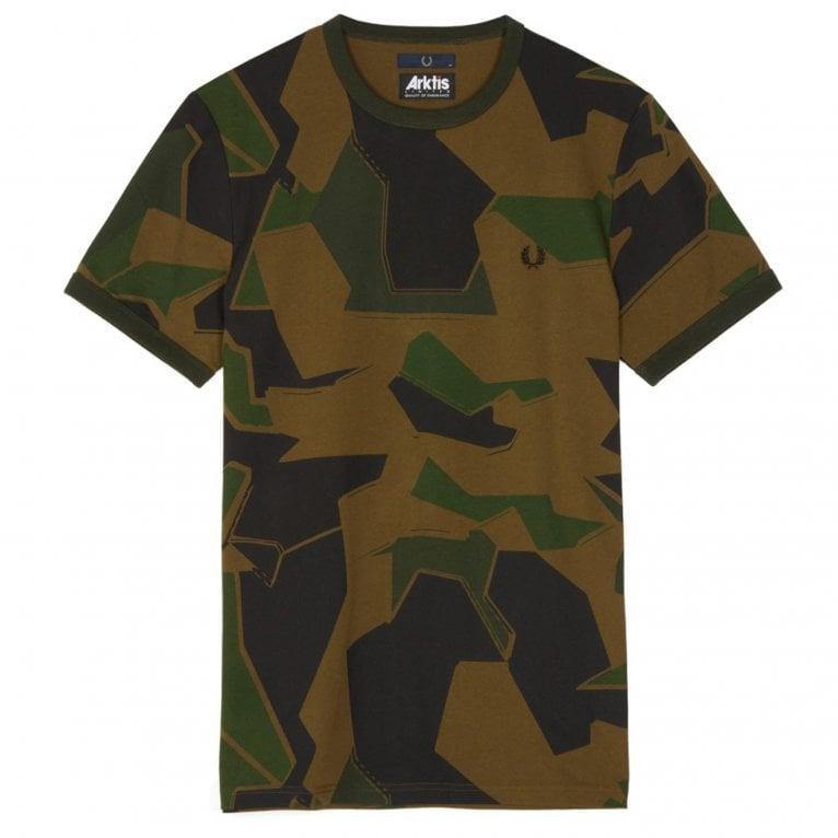 Arktis Ring T-Shirt - Arktis Woodland Camo