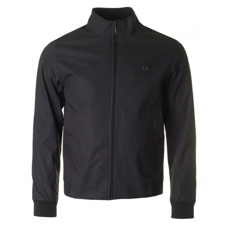 Fred Perry Bonded Zip Through Jacket