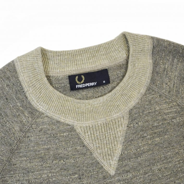 Fred Perry Budding Sweater - Chestnut