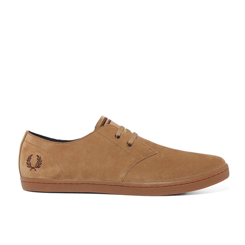 Fred Perry Byron Low Suede   Footwear