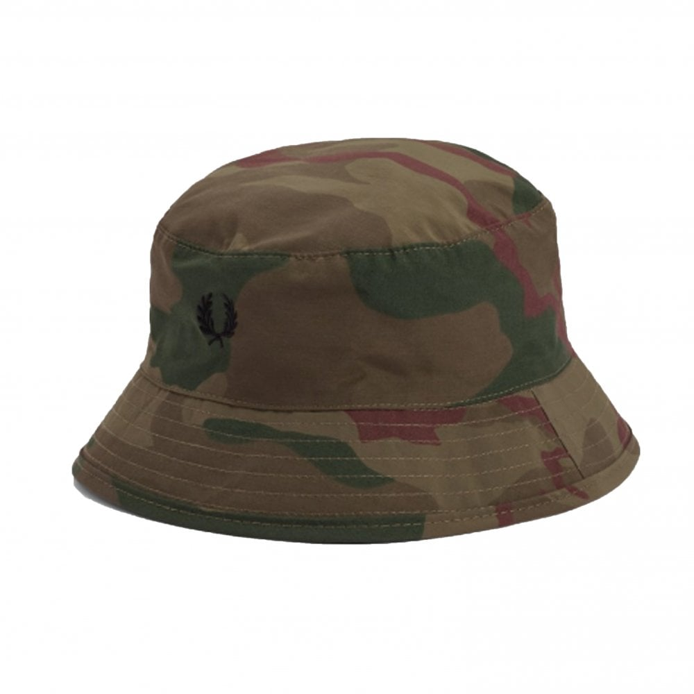 2f3a3662 Fred Perry Camouflage Bush Hat | Accessories | Natterjacks