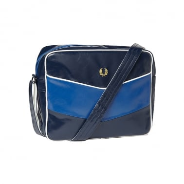 Chevron Bag - Navy/Regal