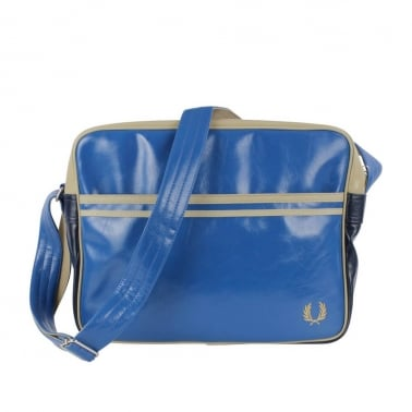Classic Shoulder Bag - Mid Blue